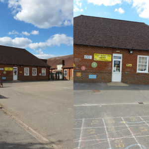 Totton Club entrance